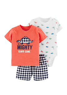 Carter's® Baby Boys Dinosaur Little Short Set