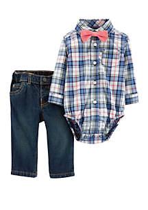 Carter's® Baby Boys 3 Piece Dress Me Up Set