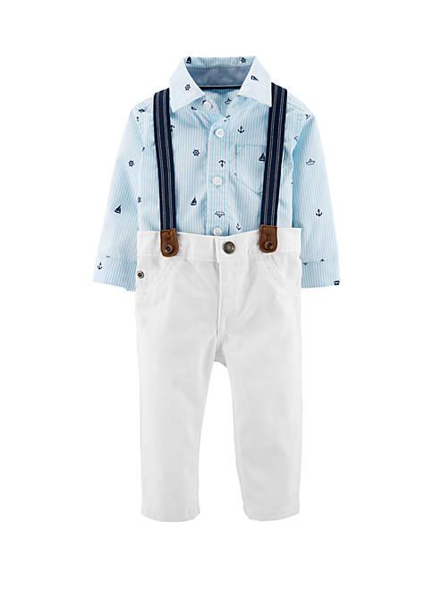 Carter's® Baby Boys 3-Piece Dress Me Up Set