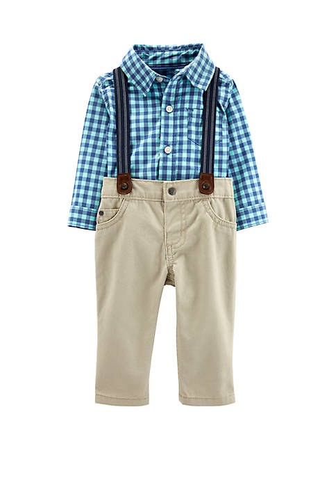 Carter's® Baby Boys 3 Piece Dress Me Up
