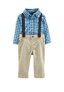 Carter's® Baby Boys 3 Piece Dress Me Up Set