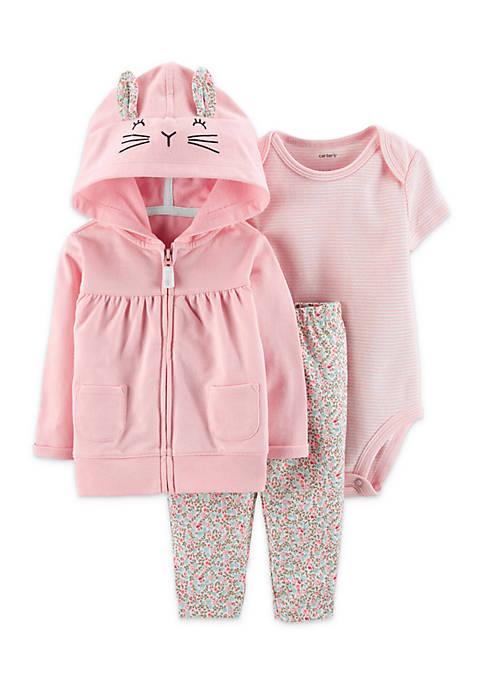 Carter's® Baby Girls 3-Piece Little Jacket Set