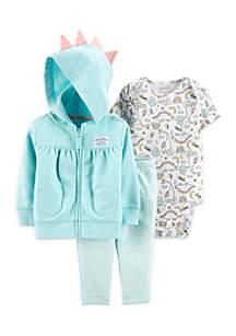 Baby Girls 3-Piece Little Jacket Set