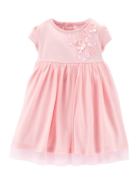 Carter's® Baby Girls Floral Tulle Dress