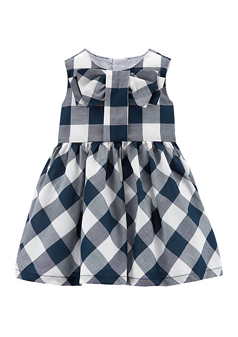 Carter's® Baby Girls Gingham Lawn Dress