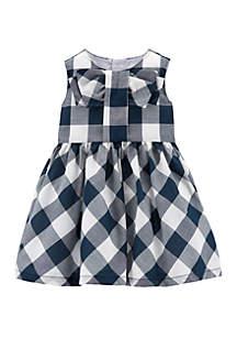 Carter's® Baby Girls Gingham Lawn Dress