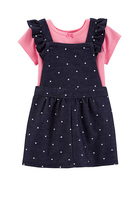 Carter's® Baby Girls 2-Piece Bodysuit and Skirtall Set