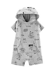 Carter's® Baby Boys Pirate Hooded Romper