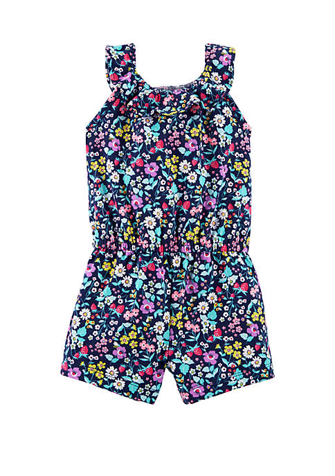 Carter's® Baby Girls Floral Ruffle Romper