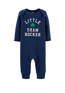 Carter's® Baby Boys St. Patrick's Day Jumpsuit