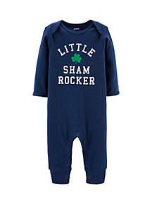 Baby Boys St. Patrick's Day Jumpsuit