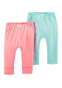 Carter's® Baby Girls 2 Pack Bubble Pants