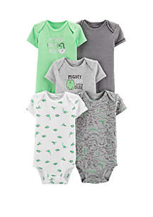 ... Carter s® Baby Boys Green Dino Bodysuit Set e8620d74fd28
