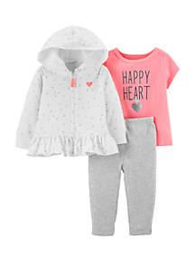Baby Girls Cutie Cardi Set