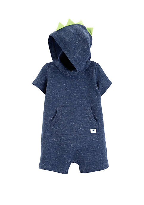 Carter's® Baby Boys Hooded French Terry Romper
