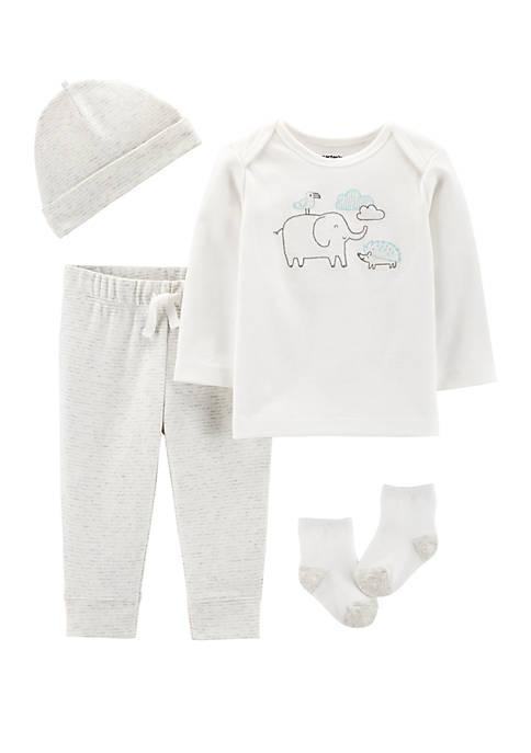 Carter's® Baby 4 Piece Elephant Take Me Home