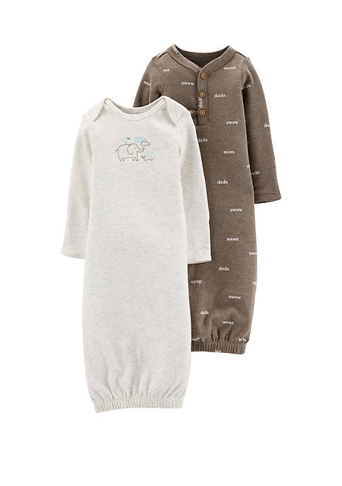Carter's® Baby 2 Pack Sleeper Gowns