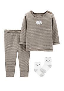 Carter's® Baby 3 Piece Elephant Take Me Home Set