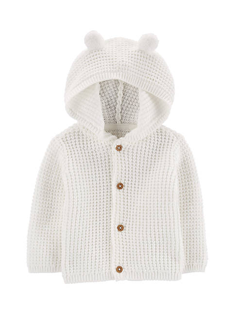Carter's® Baby Boys Hooded Cardigan