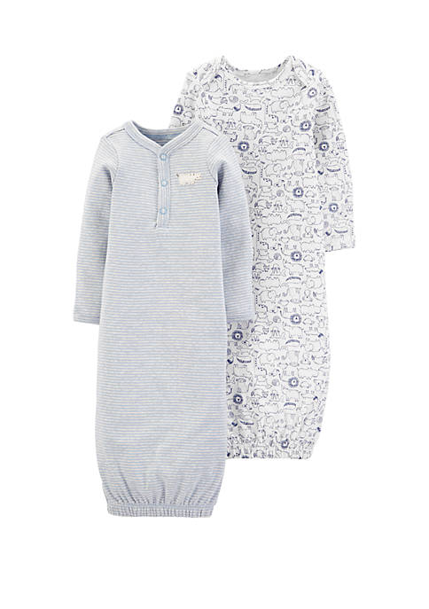 Carter's® Baby Boys 2 Pack Sleeper Gowns