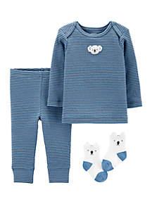 Carter's® Baby Boys 3 Piece Koala Take Me Home Set