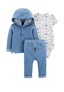 Carter's® Baby Boys 3 Piece Little Cardigan Set
