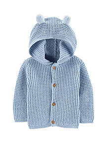 Carter's® Baby Boys Hooded Cardigan