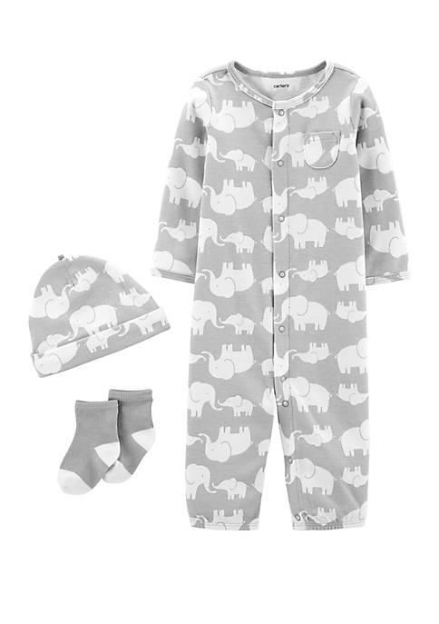 Carter's® Baby Boys 3 Piece Elephant Take Me