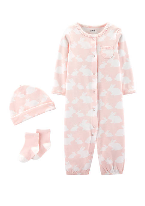 Carter's® Baby Girls 3 Piece Bunny Take Me