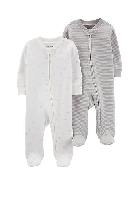 Carter's® Baby Cotton Zip Up Sleep and Play