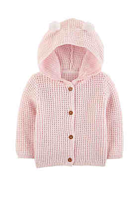 99ad7db7af3 Carter s® Baby Girls Hooded Cardigan ...