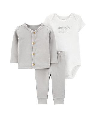 Carter/'s Baby Boys Blue Elephant Pajamas Pants Outfit Set Size Newborn 6 Months
