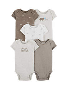 ef3354103 ... Carter s® Baby Set of 5 Elephant Original Bodysuits