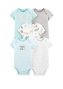 Carter's® Baby Set of 5 Alphabet Original Bodysuits