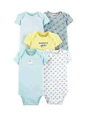 70d6e90f4 Carter's® Baby Girls 5 Pack Elephant Original Bodysuits ...