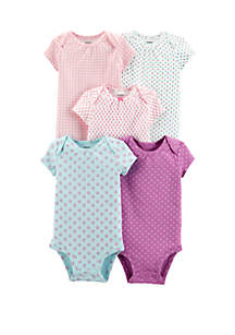 b23be74dc ... Carter s® Baby Girls 5 Pack Princess Original Bodysuits