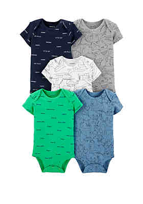 f3dacee4b Carter's® Baby Boys Set of 5 Airplane Original Bodysuits ...