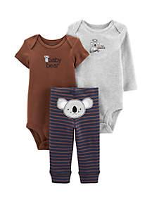Carter's® Baby Boys 3 Piece Koala Little Character Set