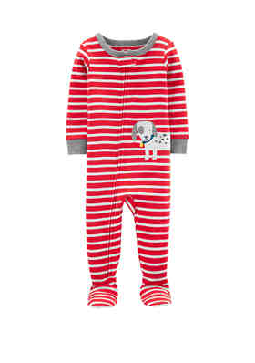 Christmas Footie Pajamas For Kids.Baby Toddler Pajamas Belk