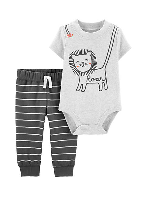 Carter's® Baby Boys 2 Piece Lion Bodysuit Pants