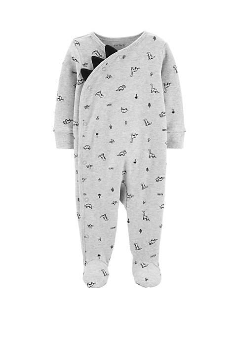 Carter's® Baby Boys Dinosaur Side Snap Cotton Sleep