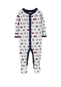 d093bef11 ... Carter's® Baby Boys Hero Snap Up Cotton Sleep and Play Coverall