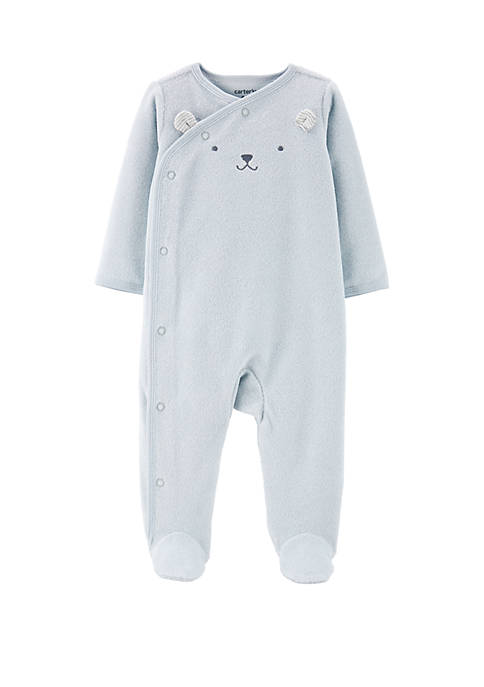 Carter's® Baby Boys Snap Mouse Footie