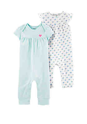 9eb683e048 Carter s® Baby Girls Jumpsuit Set ...