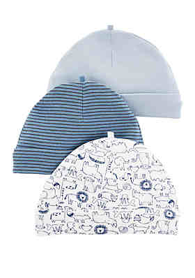 11a761a8012 Carter s® Baby Boys Set of 3 Caps ...
