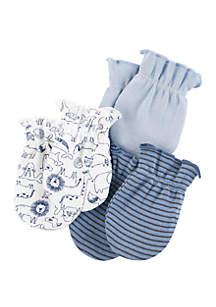 Carter's® Baby Boys 3 Pack Mittens