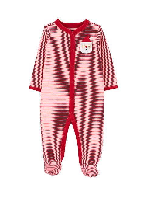 Carter's® Baby Santa Snap Up Sleep and Play