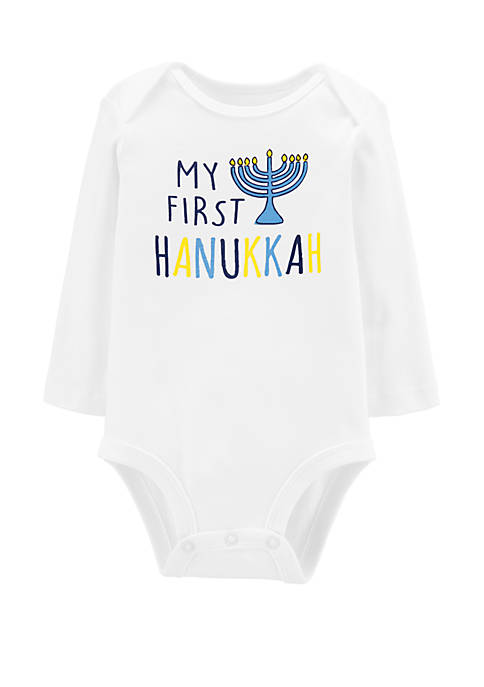 Carter's® Baby Girls First Hanukkah Collectible Bodysuit