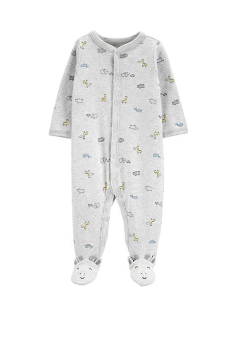 Carter's® Baby Boys Animal Snap Up Cotton Sleep