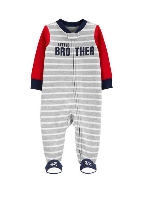 Carter's® Baby Boys Little Brother 2 Way Zip
